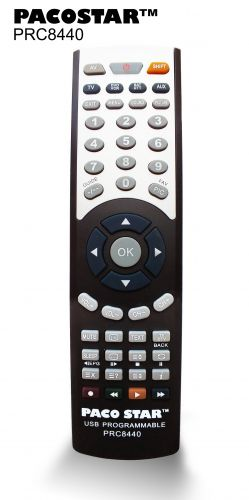 4 in 1 USB programmable remote PRC8440