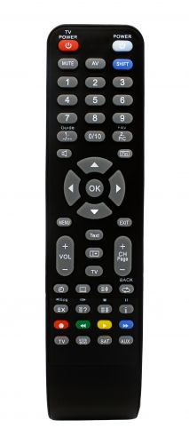 IR programmable remote control 4in 1 RT4268