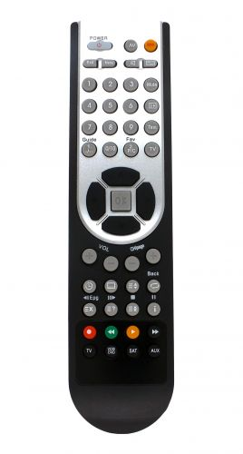 Programmable remote control RT4248 for up to 4 devices