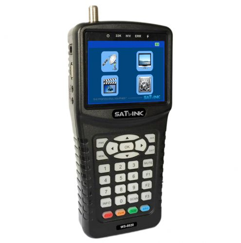 Satellite Finder Meter- Satlink WS-6920
