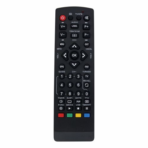 Programmable remote control RATAI for SAT/DVB/CABLE RT1212
